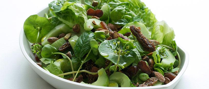 Salat Med Agurk Og Mynte